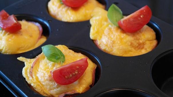 Flourless Breakfast Egg Muffins